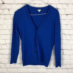 J. Crew Factory 100% Merino Wool Cardigan Size XS